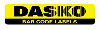 Dasko Barcode Labels